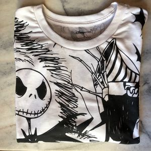 Nightmare Before Christmas T Shirt XL